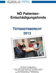 Icon of Patienten Entschädigungsfonds Tätigkeitsbericht 2013
