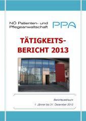 Icon of Tätigkeitsbericht 2013