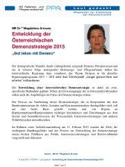 Icon of Entwicklung der Österreichischen Demenzstrategie 2015