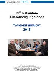 Icon of Patienten Entschädigungsfonds Tätigkeitsbericht 2015