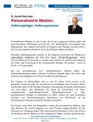 Icon of Personalisierte Medizin