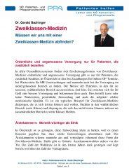 Icon of Zweiklassen-Medizin