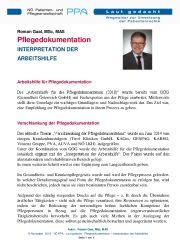 Icon of Pflegedokumentation