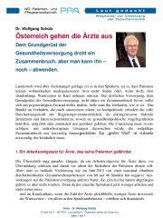 Icon of Österreich gehen die Ärzte aus