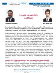 Icon of Irren Ist Menschlich Herwig Ostermann Und Martin Zuba Expertenletter Gesundheitswesen