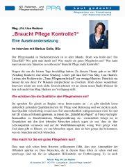 Icon of Braucht Pflege Kontrolle?