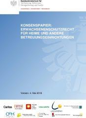 Icon of Konsenspapier - Heime und andere Betreuungseinrichtungen