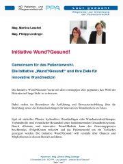 Icon of Initiative Wund?Gesund!