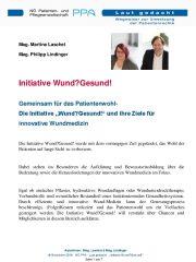 Icon of Initiative Wund? Gesund!