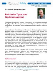 Icon of Praktische Tipps Zum Wartemanagement Quernheim Expertenletter
