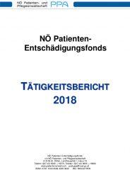 Icon of Patienten Entschädigungsfonds Tätigkeitsbericht 2018