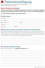 Patientenverfugung Ratgeber Und Kostenloser Download 2
