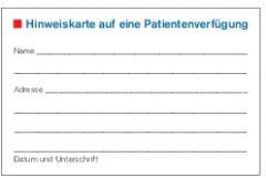 patientenverfügung kostenlos ausdrucken
