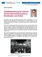 Icon of Qualitätssicherung Im Internet