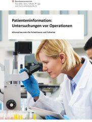 Icon of Untersuchungen vor Operationen