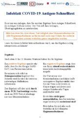 Icon of Infoblatt COVOD-19 Antigen-Schnelltest