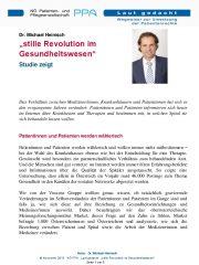 Icon of stille Revolution im Gesundheitswesen