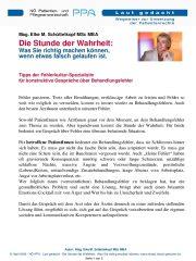 Icon of Die Stunde Der Wahrheit Was Sie  Richtig Machen Koennen Wenn Etwas Falsch Gelaufen Ist Mag Elke Schuettelkopf Patient Pdf
