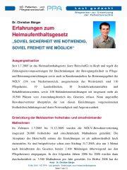 Icon of Erfahrungen Zum Heimaufenthaltsgesetz