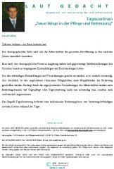 """Icon of Tageszentrum """"Neue Wege in der Pflege und Betreuung"""""""
