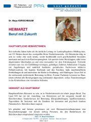 Icon of Heimarzt - Beruf mit Zukunft