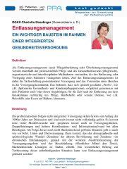 Icon of Entlassungsmanagement Wichtiger Baustein Charlotte Staudinger Pflege