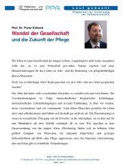 Icon of Wandel Der Gesellschaft Zukunft Pflege Prof Kolland Expertenletter Pflege