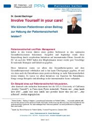 Icon of Involve Yourself In Your Care Expertenletter