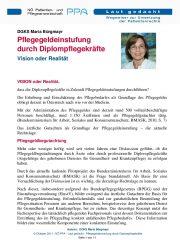 Icon of Pflegegeldeinstufung Durch Diplompflegekraefte Buergmaier Maria Expertenletter Pflege