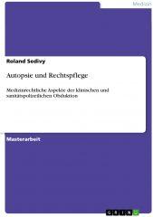 Icon of Autopsie und Rechtspflege