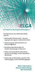 Icon of ELGA - ein Projekt der Bundesgesundheitsagentur