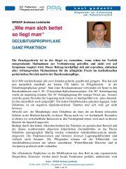 Icon of Wie Man Sich Bettet Decubitusprophylaxe Ganz Praktisch DPGKP Leimhofer Andreas Laut Gedacht Pflege
