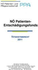 Icon of Patienten Entschädigungsfonds Tätigkeitsbericht 2011
