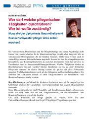 Icon of Wer Darf Welche Pflegerischen Taetigkeiten Durchfuehren Eva Kuerzl Expertenletter Pflege 01