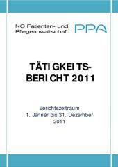 Icon of Tätigkeitsbericht 2011
