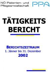 Icon of Tätigkeitsbericht 2002