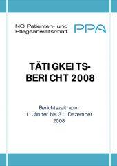 Icon of Tätigkeitsbericht 2008