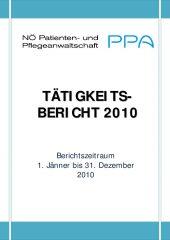 Icon of Tätigkeitsbericht 2010