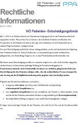 Icon of NÖ Patienten-Entschädigungsfonds