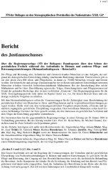 Icon of Bericht des Justizausschusses