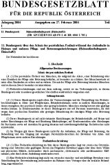Icon of Heimaufenthaltsgesetz