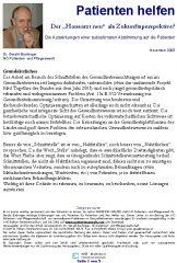 """Icon of Der """"Hausarzt neu"""" als Zukunftsperspektive?"""