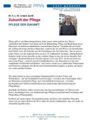 Icon of Zukunft Der Pflege Sr Liliane Juchli Expertenletter Pflege