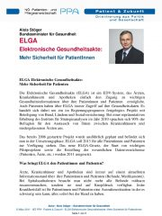 Icon of ELGA Elektronische Gesundheitsakte