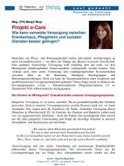 Icon of Projekt e-Care
