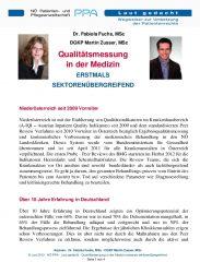 Icon of Qualitätsmessung in der Medizin