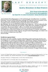Icon of Studie der London School of Economics and Political Science - Weiterentwicklungsbedarf bei Qualität im österreichischen Gesundheitswesen